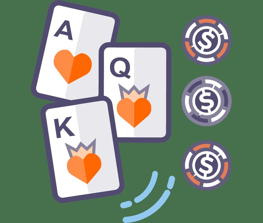 13 Bästa Trekortspoker Mobil Casinos 2021