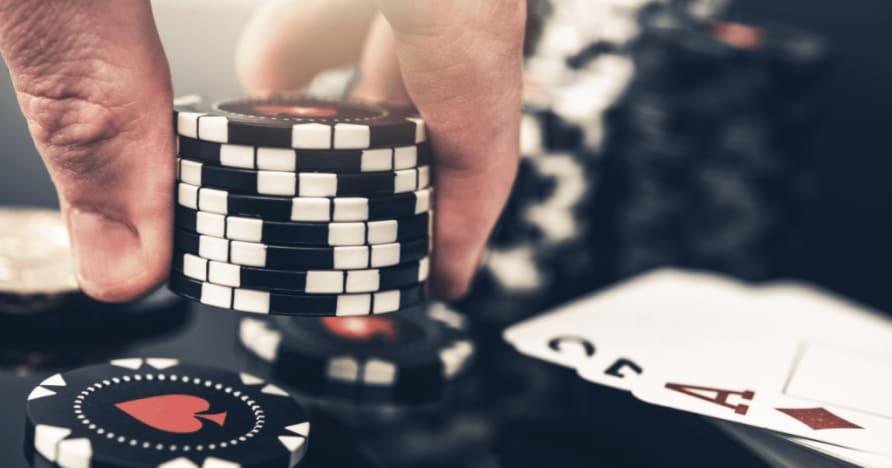 5 största skillnaderna mellan poker och blackjack