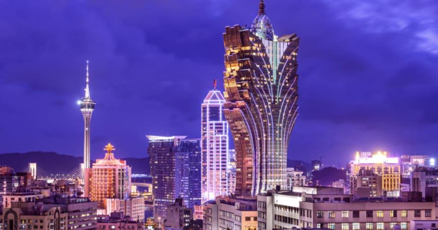 Gå på en resa öster med Betsofts Mr. Macau