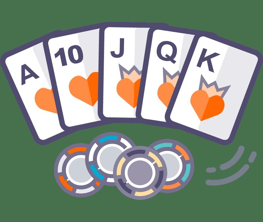 10 Bästa Texas Holdem Mobil Casinos 2021